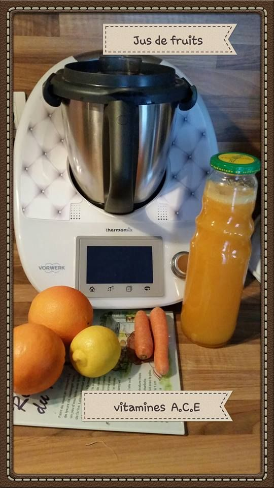 Pour le matin, je vous propose aujourd'hui le, jus de fruits A.C.E.    INGRÉDIENTS 1 citron non traité 1/2 carotte 70 g de sucre 2 oranges à jus non traitées 550 g d'eau  PRÉPARA...