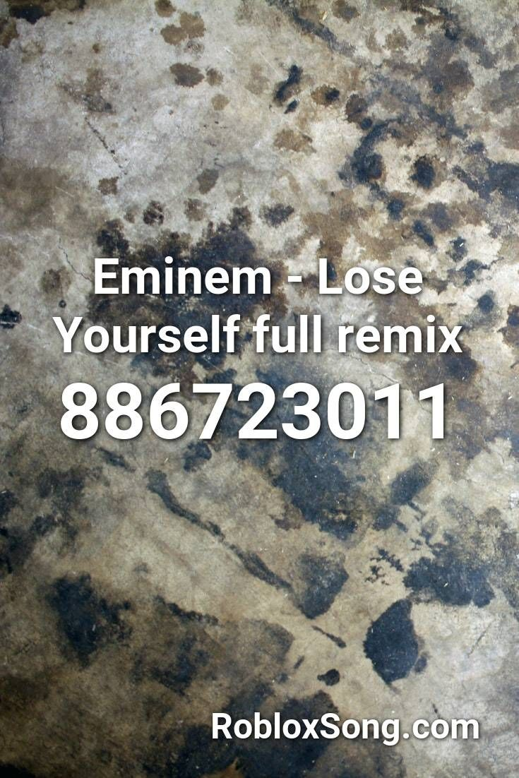 Eminem Lose Yourself Full Remix Roblox Id Roblox Music Codes In 2021 Fnaf Song Songs It S All Over But The Crying