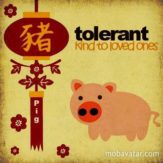 Mobavatar.com - NEW YEAR - Pig Animal Of Chinese Zodiac : Free ...