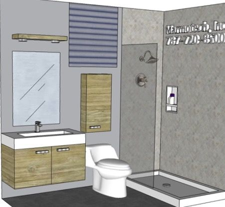 9 Best Bathroom 4x8 Images On Pinterest