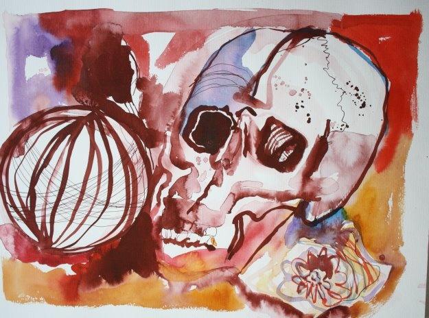 Cuba Soli Spezial and Vanitas - drawing from Susanne Haun   www.susanne.com