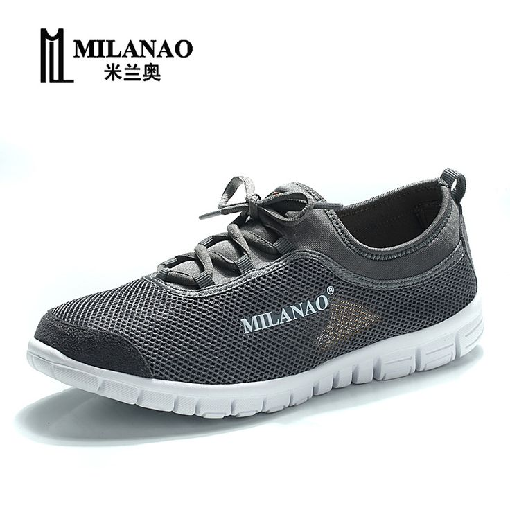 Running Shoes MILANAO 2016 breathable running shoes,super light sneakers  comfortable men athletic shoes,