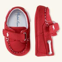 Sander Canvas Boat Shoe - Layette Shoes - RalphLauren.com