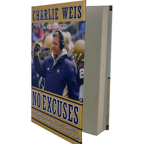 Charlie Weis No Excuses Book