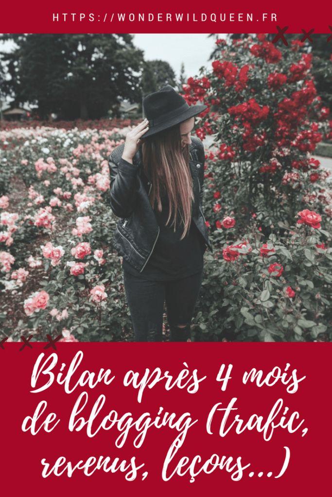 [BILAN WWQ 4] Plus j'avance... et plus je me dis que je suis sur la bonne voie ! - WONDER WILD QUEEN #blog #bilan #blogging #blogueuse #entrepreneur #girlboss #trafic #monétisation