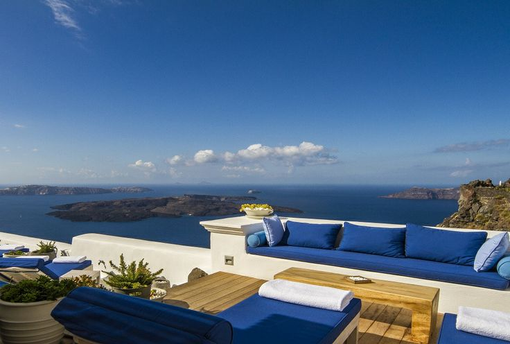 The comforts of The Iconic Suite extend out to the private terrace area with an exclusive lounging deck...