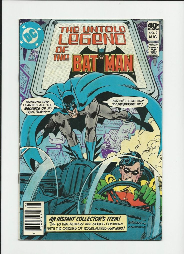 Two 2 Comic Lot DC Comics Untold Legend of the Batman