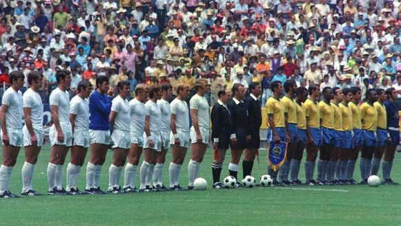 England Vs Brazil Line Up Mexico 1970 World Cup England Football Team World Cup Winners