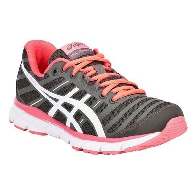 Chaussures de running Chaussures - Chaussures running femme Gel Zaraca 2  gris rose ASICS - Par