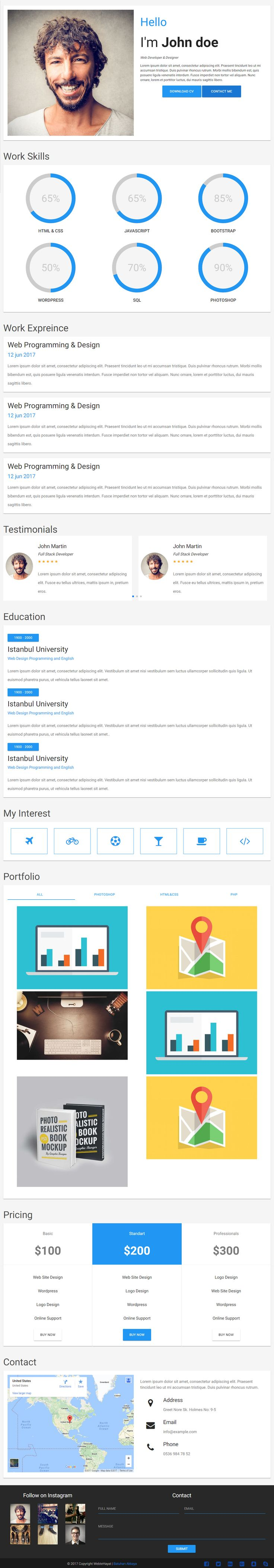 Material CV is Premium full Responsive Retina HTML5 Template. Material Design. One Page. #MaterializeCSS. If you like this #CVTemplate visit our handpicked list of best #Resume and #CV Website Templates at: http://www.responsivemiracle.com/best-resume-and-cv-website-template/