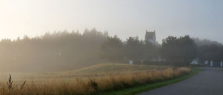 Nivaa Church a late summers morning.
