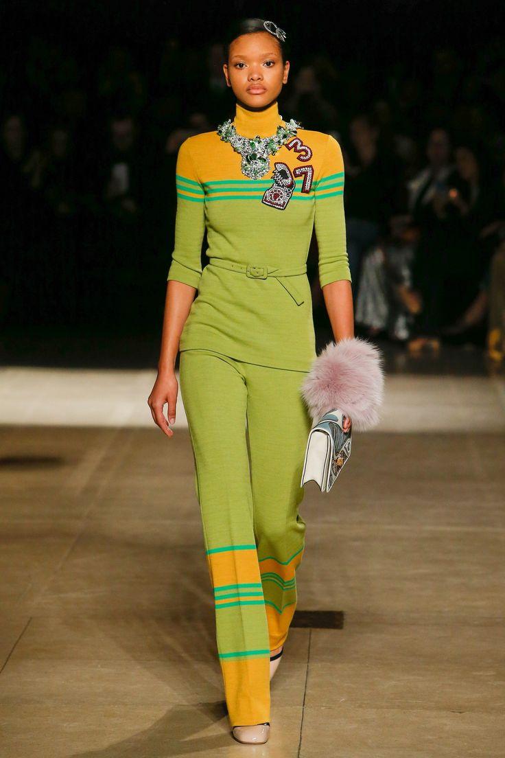 #MiuMiu   #fashion  #Koshchenets    Miu Miu Fall 2017 Ready-to-Wear Collection Photos - Vogue