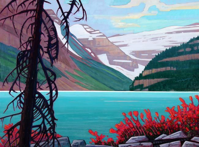 Lake Louise in September by Nicholas Bott