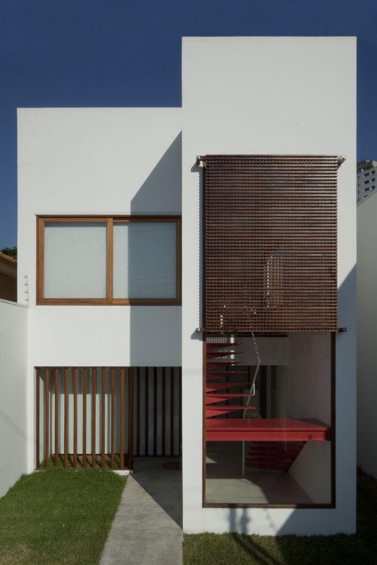 20090902_Brasil Arquitetura_Casa Madalena_046 Casa Rua Madalena. São Paulo, SP, Brasil. Projeto: Escritório 'Brasil Arquitetura'.
