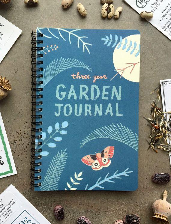 Garden Journal: Three Year Daily Planner Gardening Mom Gift for Gardeners, Garden Book Garden Art Mothers Day Gift Day Planner Gardener Gift