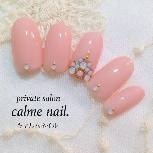 ピンク ストーン オパール