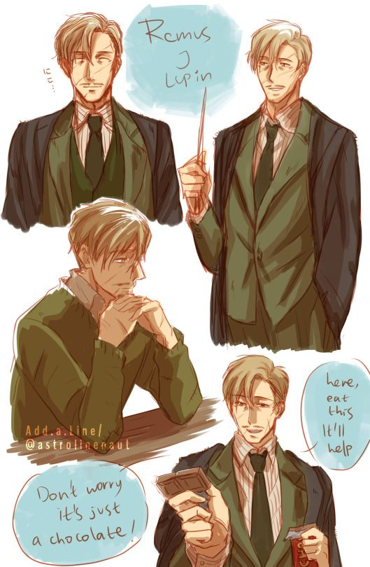 Remus Lupin by Garis