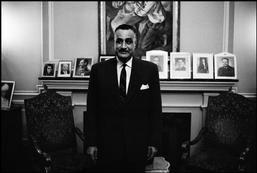 EGYPT. Cairo. President of Egypt Gamal Abdel NASSER, in his residence. 1967.