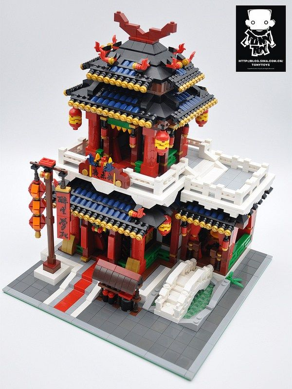 LEGO Modular chinese restaurant