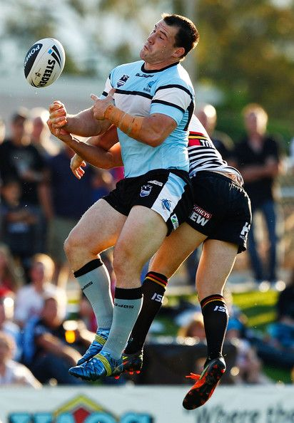 Paul Gallen from the Cronulla Sharks