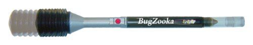BugZooka is a fast, simple, and clean way to rid bugs from your home   The innovative and light weight new BugZooka lets you keep your distance and avoid bug squish and splatter   It's unique patent pending design creates 10X the instant suction of heavy battery powered devices   Bugs are sucked instantly into a removable catch tune with the simple press of a button   Ideal for home, RV, cabin, boat, garden, and kids