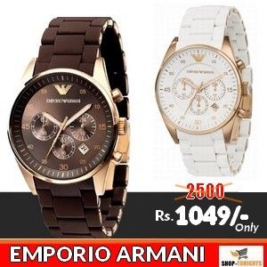 Stylish and Elegant Giorgio Armani Watches for Sale with Free Home Delivery in Pakistan, Online Shopping in Pakistan