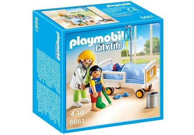 6661 Playmobil City Life Doktor & Barn