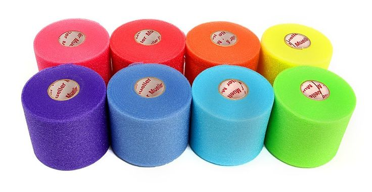 Rainbow Pack of Pre-Wrap-- Love these colors! // Gymnast Gift Guide