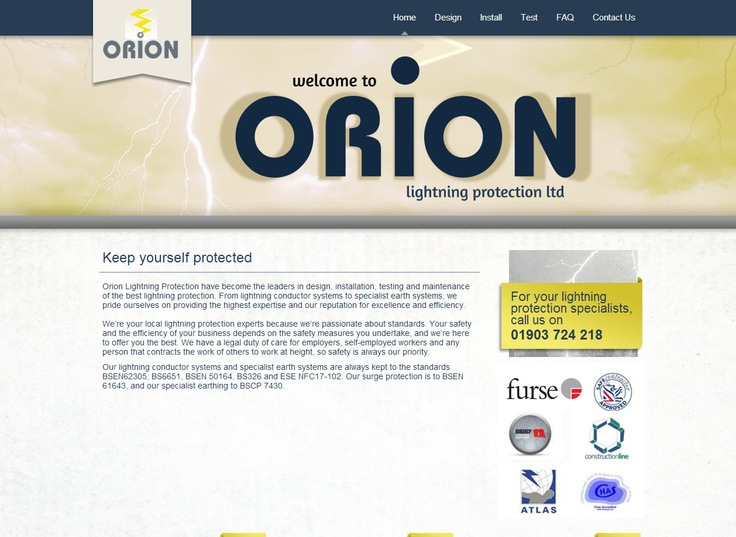 Orion Lightning Protection