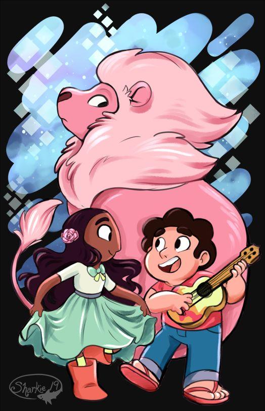 Steven e Connie é Leão