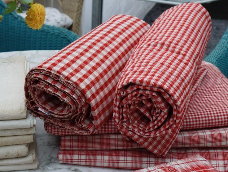 uralter Leinen-Bettbezug von Weißwäscherei - antike Textilien auf DaWanda.com