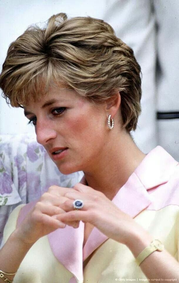 Princess Diana Ring Detail
