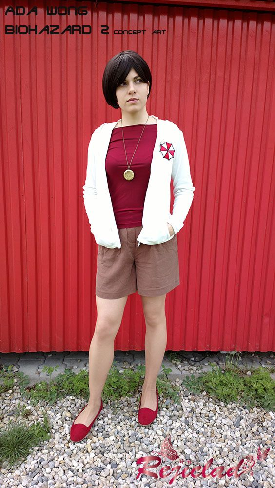 Ada Wong Resident Evil / Biohazard 2 Concept Art #1 cosplay I by Rejiclad