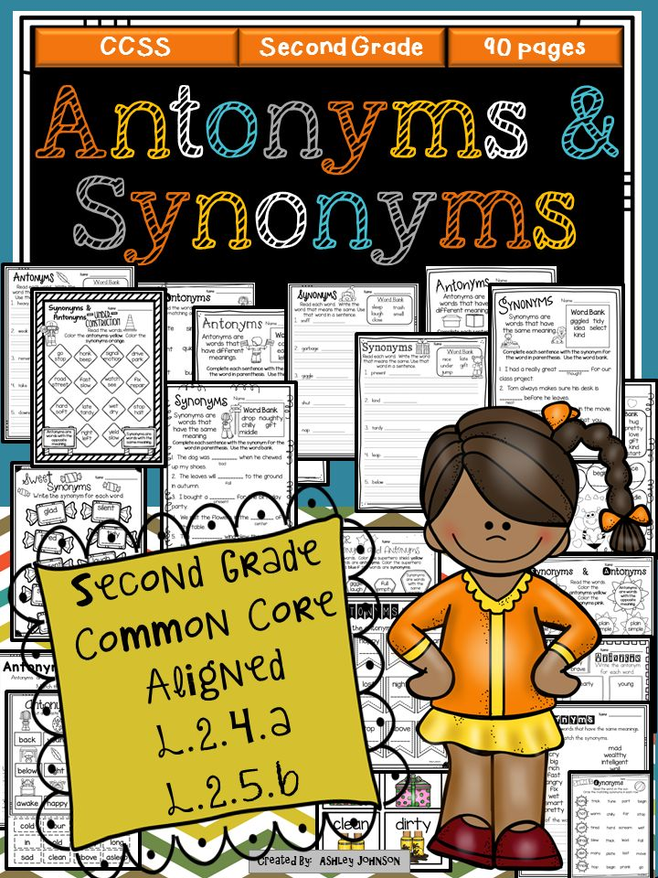 Your students will have blast with this Antonym and Synonym unit. This packet has everything you need to teach your students about antonyms and synonyms. Common Core Aligned L.2.4.a and L.2.5.b