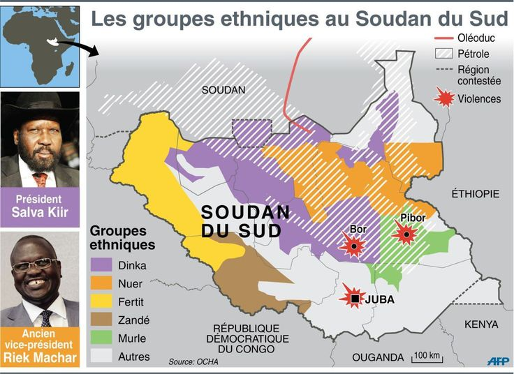 Ethnic groups and violences of South Sudan, 2013