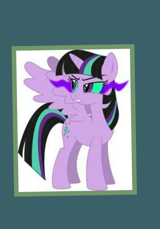 evil mlp coloring pages - photo#41