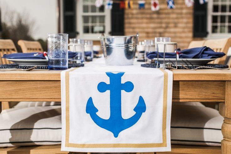 80 Sommerliche maritime Deko Ideen für drinnen und draußen ,  #drinnen #ideen #maritime #sommerliche