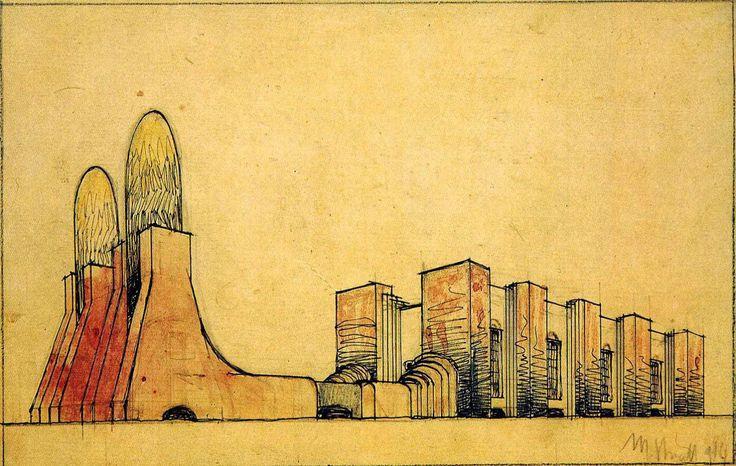 A century since futurism: Antonio Sant'Elia and Mario Chiattone | The Charnel-House