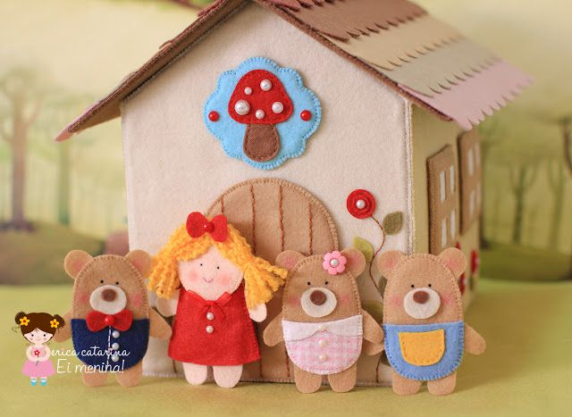 Ei Menina!: Cachinhos Dourados e os 3 Ursinhos