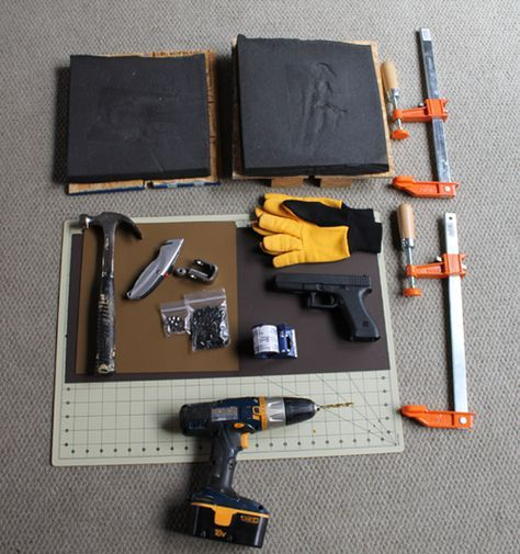 How to Make a Kydex Holster. Would probably work just as well for a knife sheath.