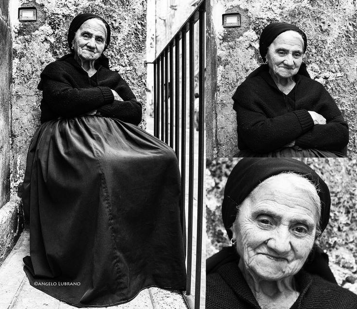 Trittico: gente di Scanno (AQ)