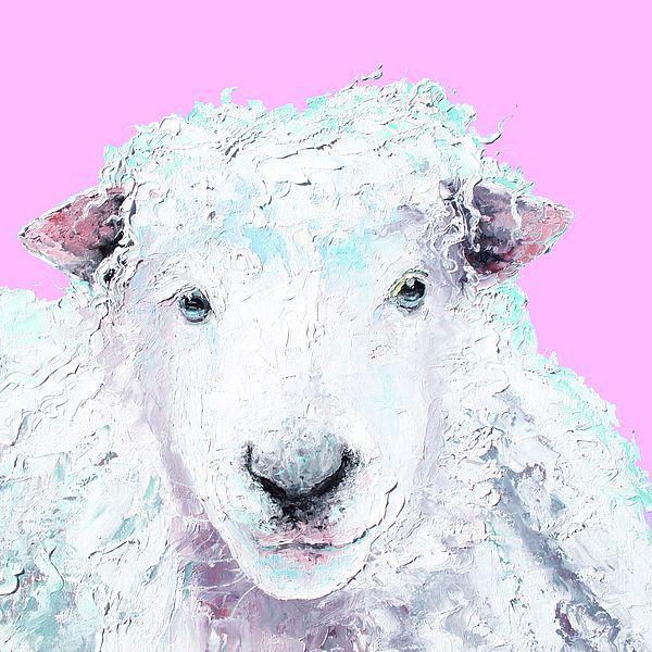 Woolly sheep  #kitchenwallart #kitchendecor #nurserywallart #cafeart… #sheep