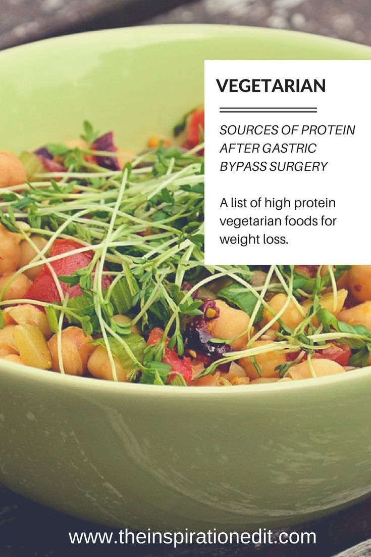 High Protein Foods For Gastric Bypass Patients Gastric Bypass Food