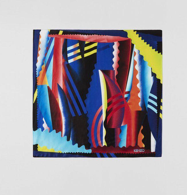 6a6c63c5caaa 25 foulards pour twister ses tenues   Mode   Pinterest   Foulard, Mode et  Kenzo