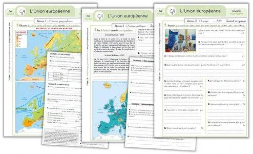Géographie CM2 - Séquence complète : L'Union européenne