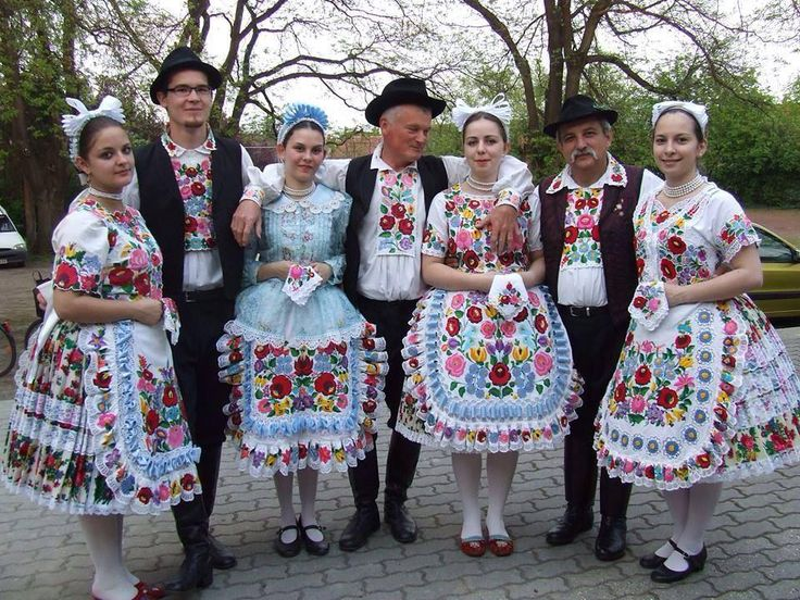 Folk dancers from Kalocsa, Hungary
