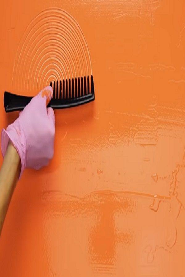 23 Wall Painting Ideas Using Ordinary Things Video Diy Wall Painting Wall Painting Techniques Wall Painting