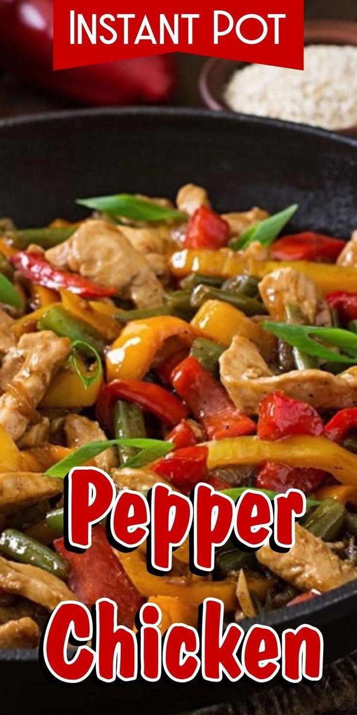 Instant Pot Pepper Chicken Recipe Stuffed Peppers Pressure Cooker Chicken Paleo Slow Cooker