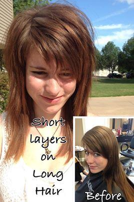 Long Hair with Short Layers by Jennifer Jones Gahagan
