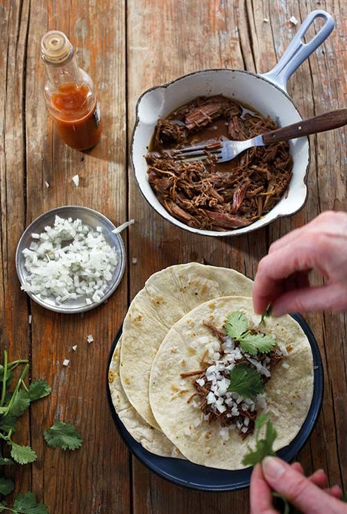 Slow Cooker Barbacoa Tacos from Leite's Culinaria